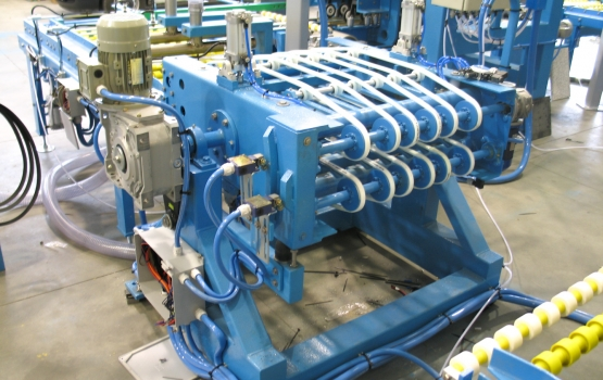 Overturning machine for slabs and strips ROV12